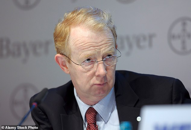 Marijn Dekkers (pictured), steps down as chairman of Unilever after reversing a decision to move its headquarters away from London to Rotterdam