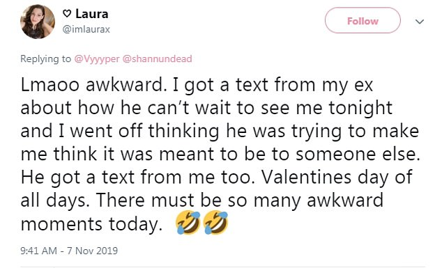 A glitch affecting major cell carriers resulted in dozens of people suddenly receiving text messages from Valentine's Day 2019 that had never been delivered