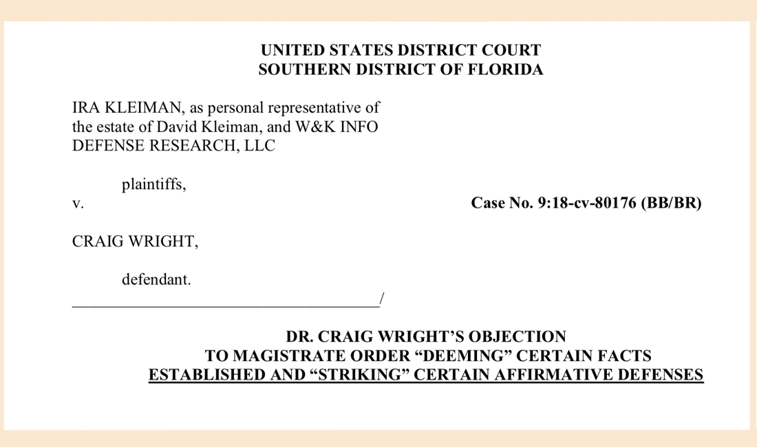 Attorney Fees Stack up as Craig Wright Fights Court Order