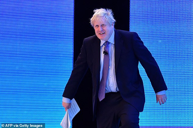 Mr Johnson also used his address at the CBI summit to announce four planned business tax cuts