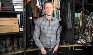 Dr Martens chief executive Kenny Wilson at its head office in Camden, London