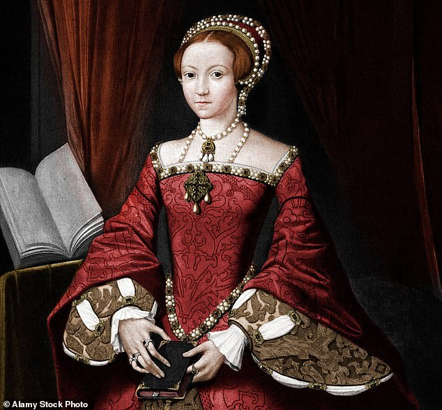Elizabeth I's portrait painters couldn't show that she had aged as to avoid any sign of weakness. The above painting is thought to date back to 1547