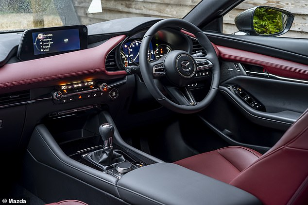 The Mazda3 hatch and CX-30 SUV already feature the brand's advanced driver monitor system