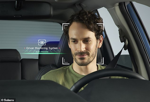 Facial recognition software built into the latest Subaru knows who different drivers are and can adjust the seat position and door-mirror angles to suit that designated motorist