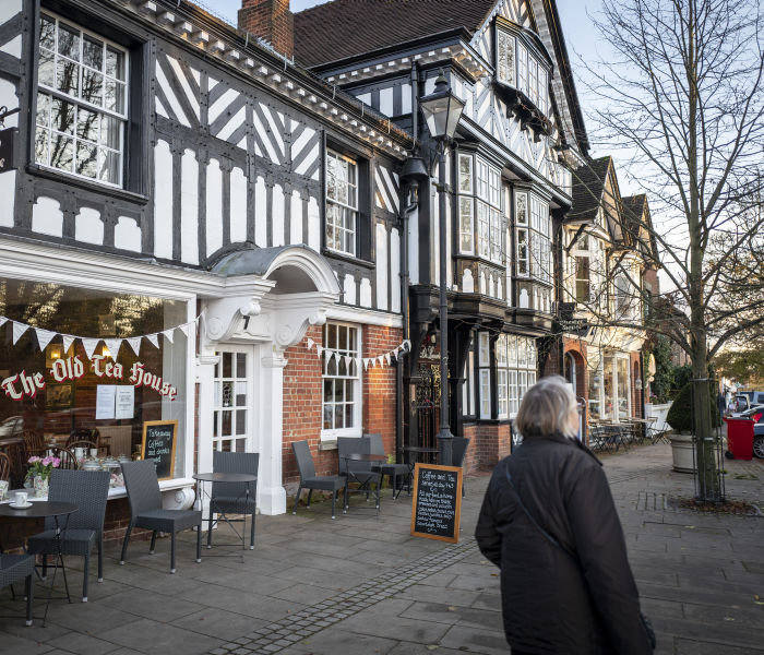 14/11/2019 Beaconsfield with Seb Payne. Picture shows: The old Tea House, Beaconsfield.