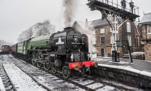 Tornado Steam engine at North York Moors Heritage Railway March 2018. LNER Peppercorn Class A1 60163 TornadoMFXH3W Tornado Steam engine at North York Moors Heritage Railway March 2018. LNER Peppercorn Class A1 60163 Tornado