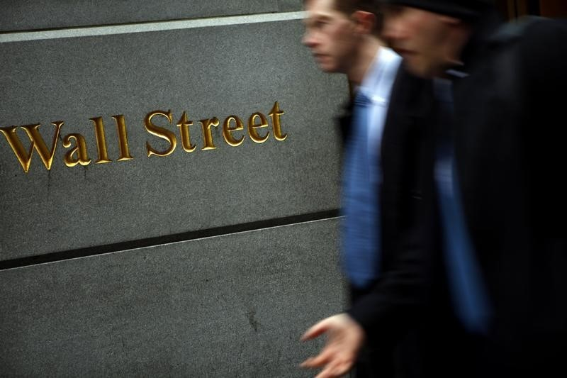 © Reuters.  U.S. shares higher at close of trade; Dow Jones Industrial Average up 0.11%