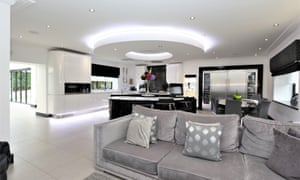 Andy Carroll's Chigwell kitchen.