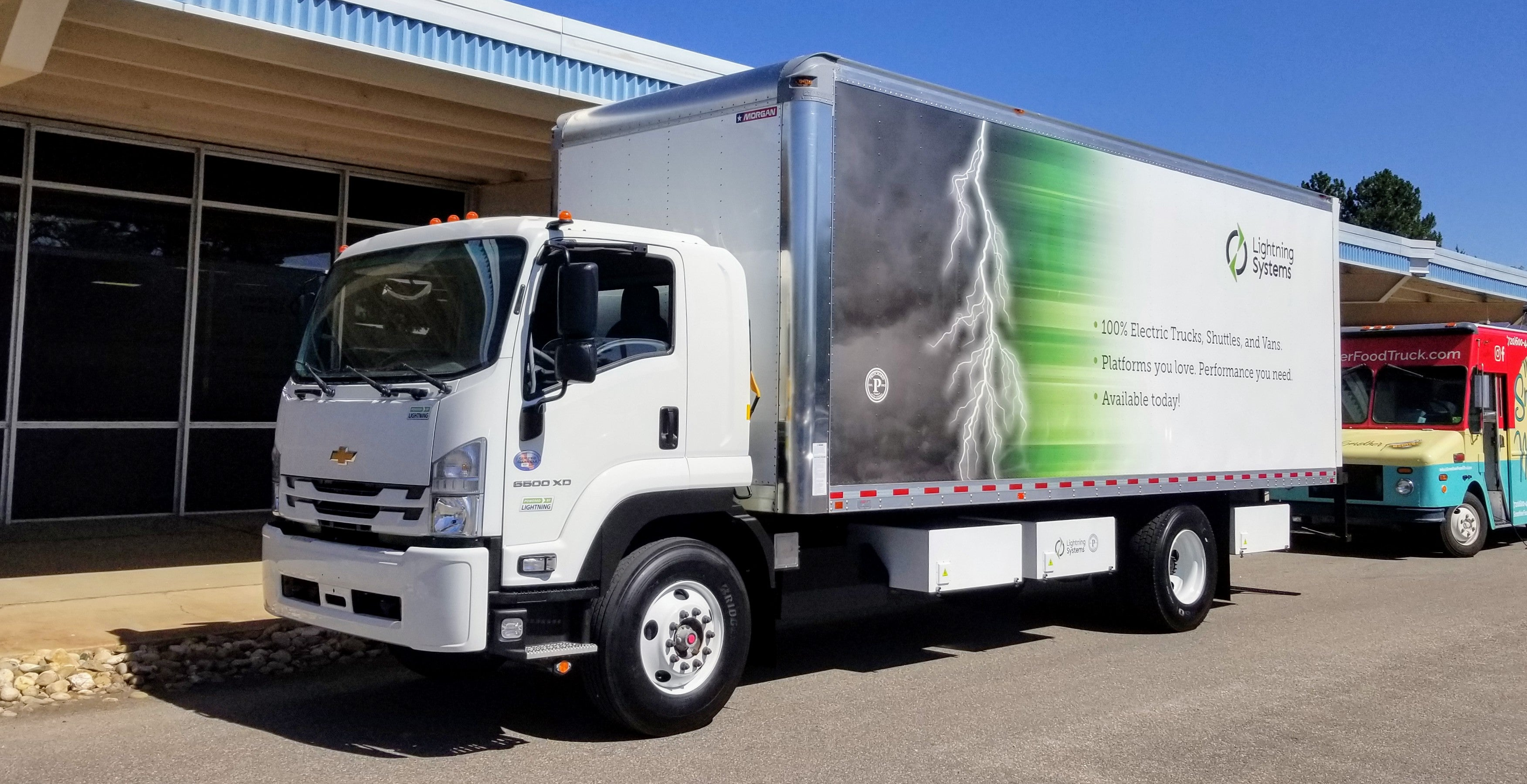 Lightning Systems-powered Chevy 6500 HD