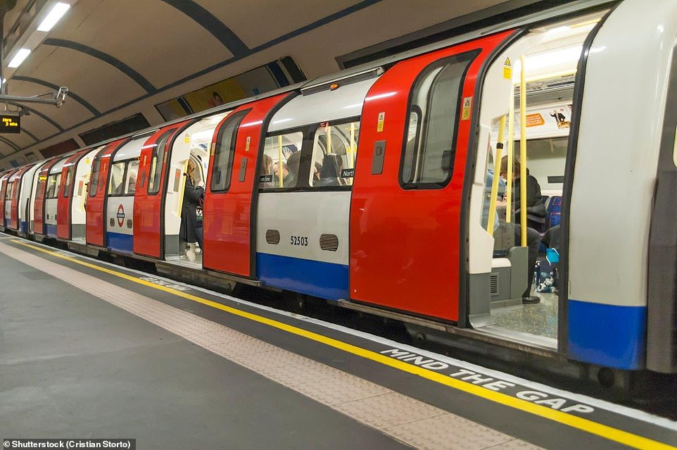 The London Underground is used by around two million people every day and many of them may be exposed to harmful levels of air pollution on their journeys, King's College London research shows (stock image)