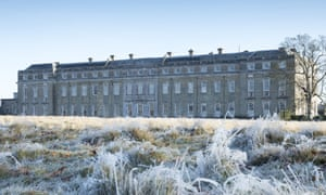 Petworth House A frosty winter day at Petworth, West Sussex.