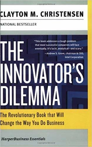 """The Economist called Professor Christensen's """"The Innovator's Dilemma"""" one of the six most important business books ever written."""