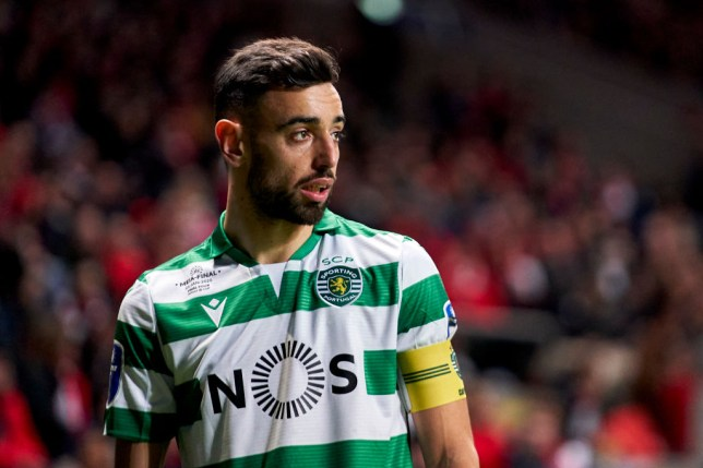 Manchester United are still hoping to sign Bruno Fernandes
