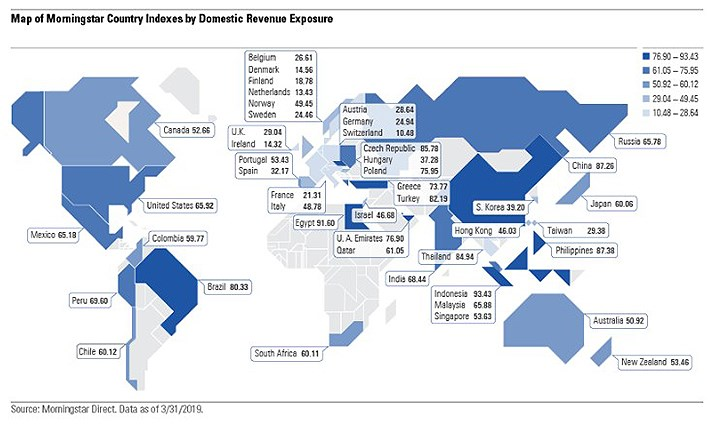 revenue map