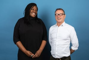 'The best thing about TV dialogue is what's left unsaid': Yero Timi-Biu with her mentor, Paul Abbott