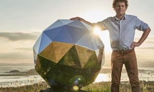 Peter Beck with the Humanity Star