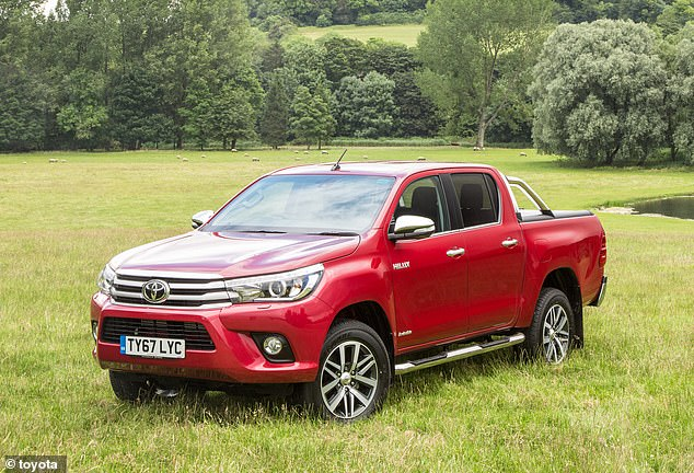 The Toyota Hilux has cast a name for itself as being one of the most durable vehicles on sale - but MOT records show it is among the worst offenders when it comes to failing first MOT tests