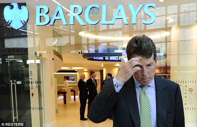Mr Epstein, who made a fortune from his investment firm J Epstein & Co, was said to have been furious when Mr Staley was overlooked for the Barclays job after fellow American Bob Diamond (pictured) lost his job in 2012