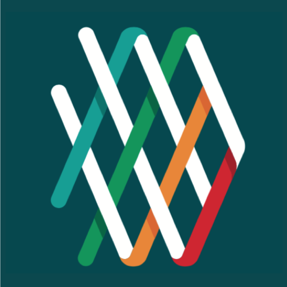 AAM Logo on dark green background