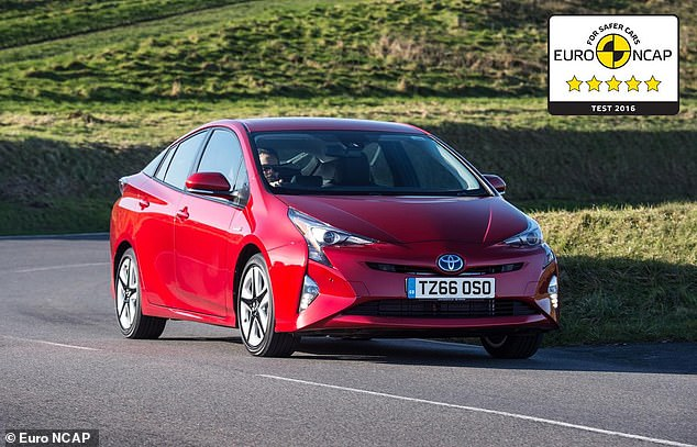 Mr Hebbs told This is Money that a recall appointment for his 2016 Toyota Prius hybrid (file photo) was cancelled on Tuesday - and he was told he can continue driving the vehicle