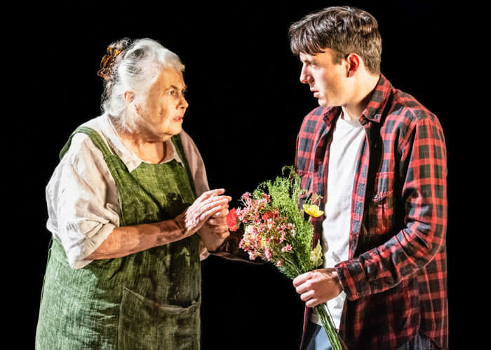 Lois Smith and Samuel H. Levine in 'The Inheritance', co-produced by Eric Kuhn