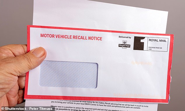Vehicle safety recalls: The DVSA says it is urgently looking at the process for pressing car repairs during the coronavirus lockdown