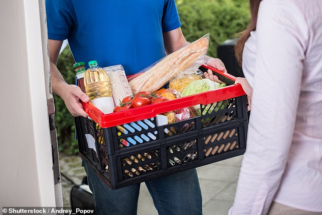 Vital: We have now heard from hundreds of anxious readers who say they have been told to stay at home but cannot get an online supermarket delivery slot