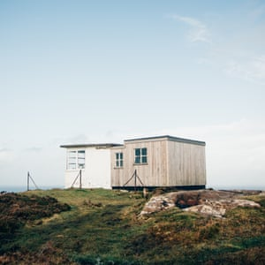 This bothy – the Lookout on the Isle of Skye – is a former coastguard watch station that was operational until the 1970s