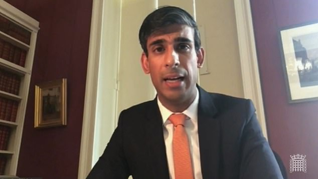 Rishi Sunak sounded a gloomy note as he gave evidence to the Lords Economic Affairs Committe earlier this week